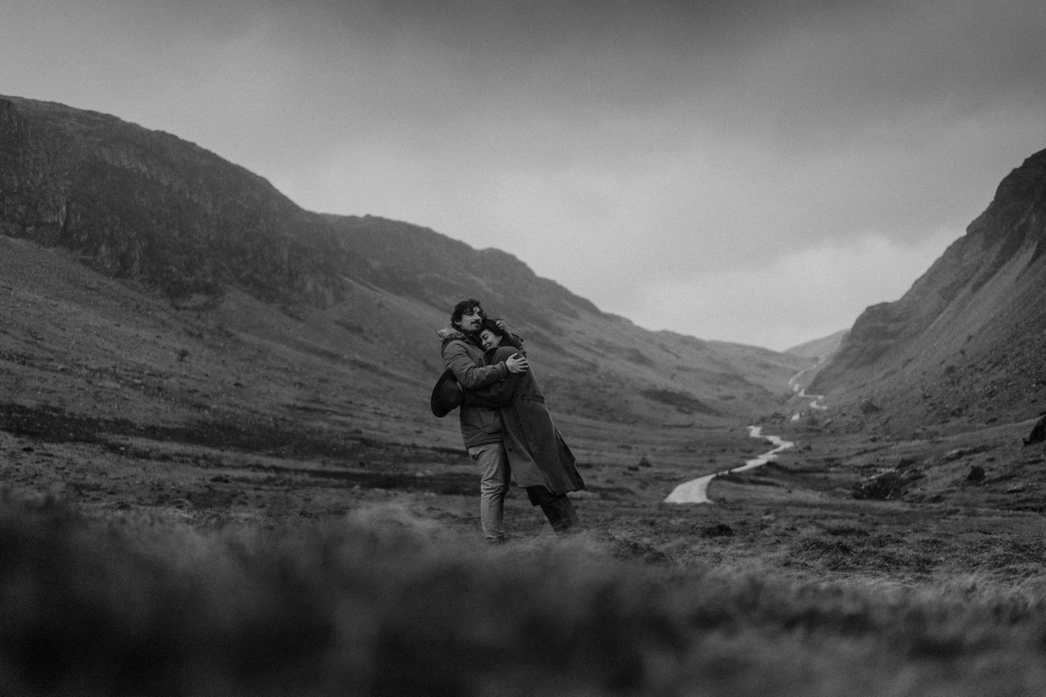 Buttermere Lake District engagement photography