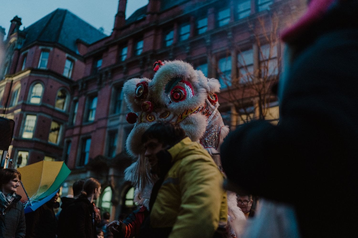 Manchester Chinatown new year photography