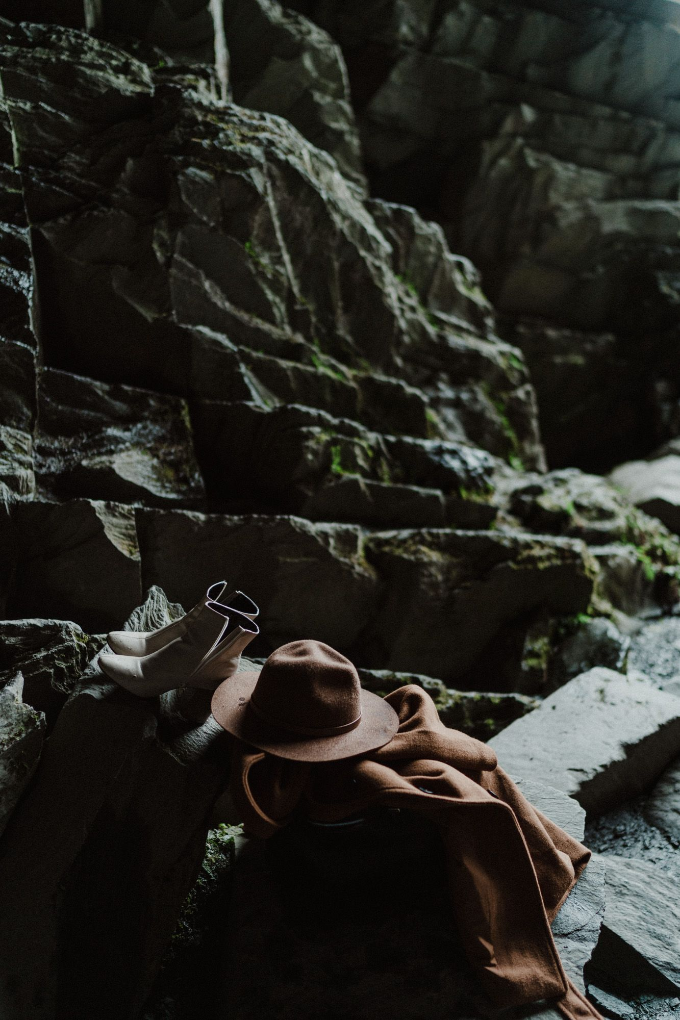 Rydal Cave engagement photography