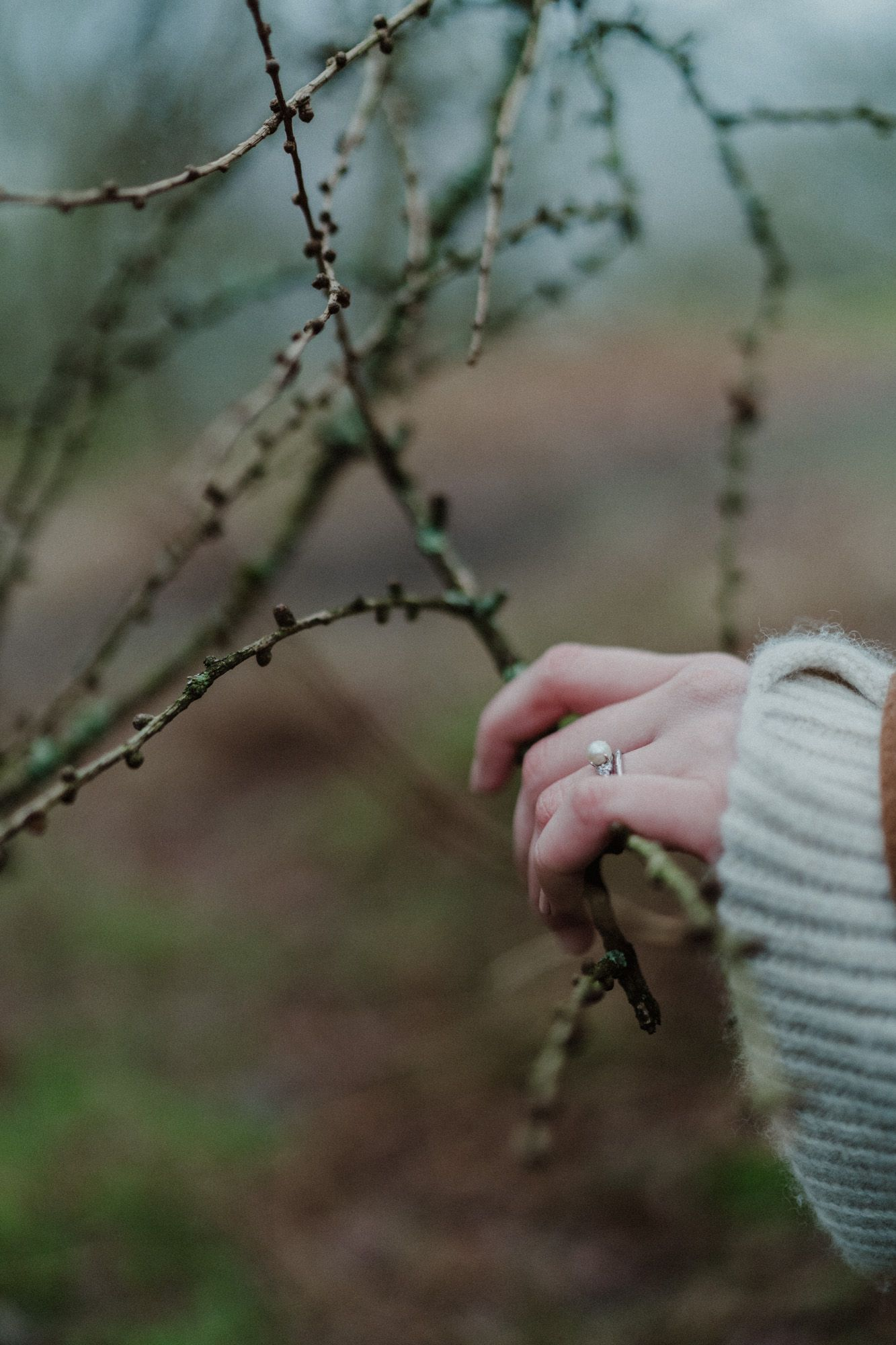 Rydal Lake District engagement wedding ring photography