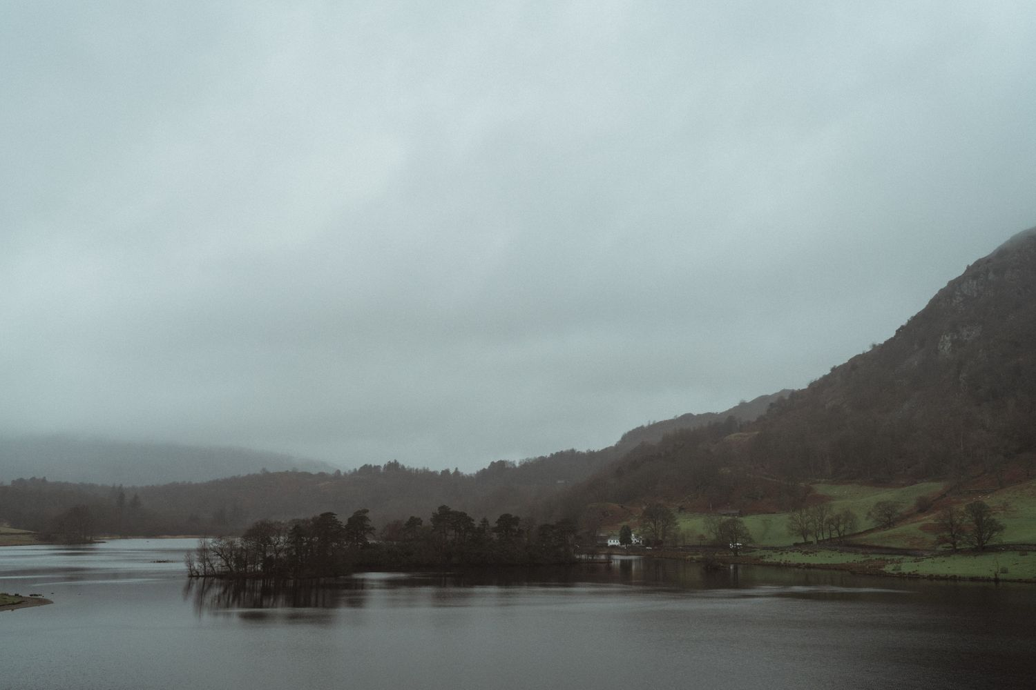 Rydal Lake District engagement photography