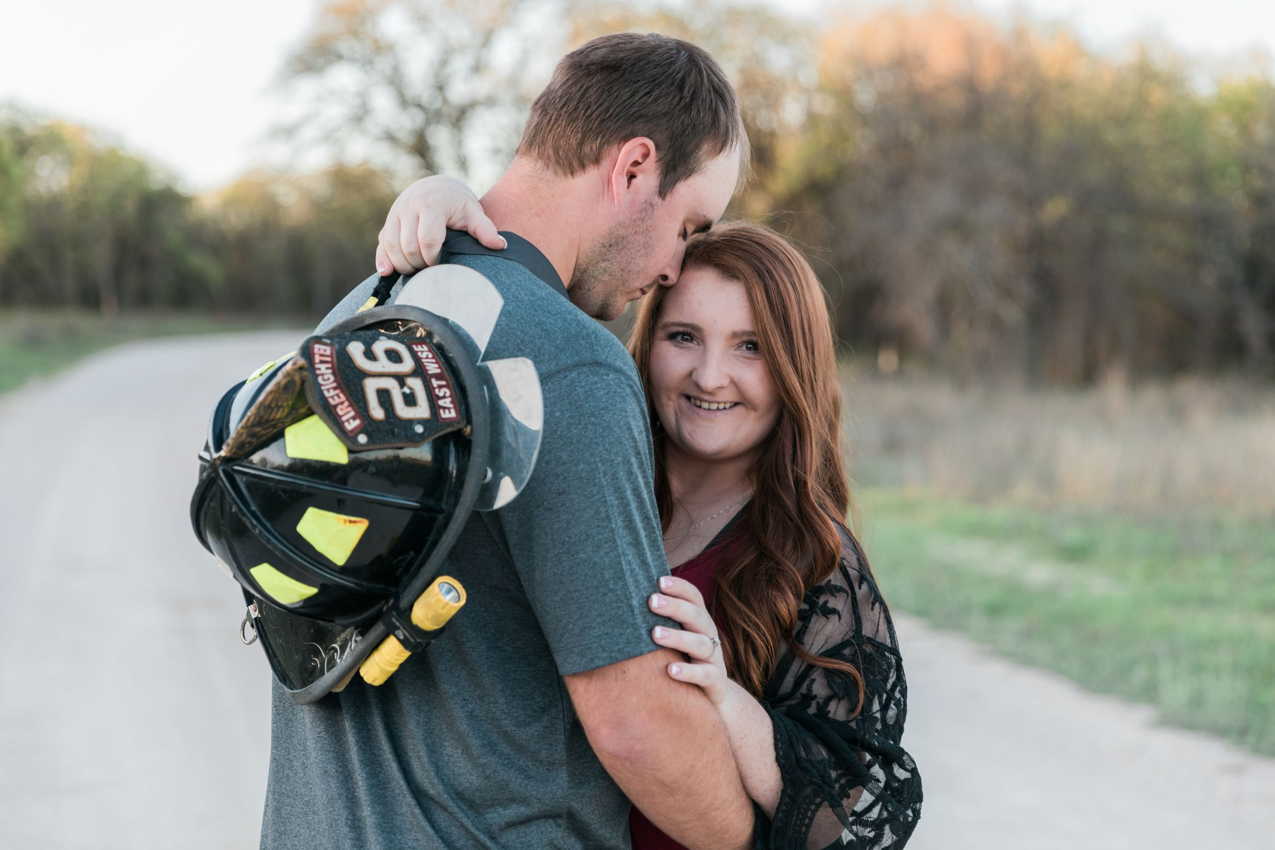 Firefighter-Texas-Spring-Engagement-Session-Decatur
