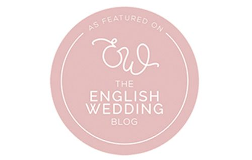 Faye Amare photography featured on The English Wedding Blog
