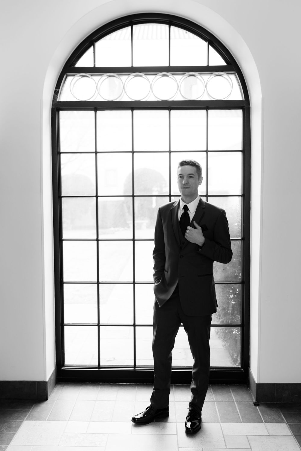 Groom at St. Ann Catholic Parish, Coppell Texas
