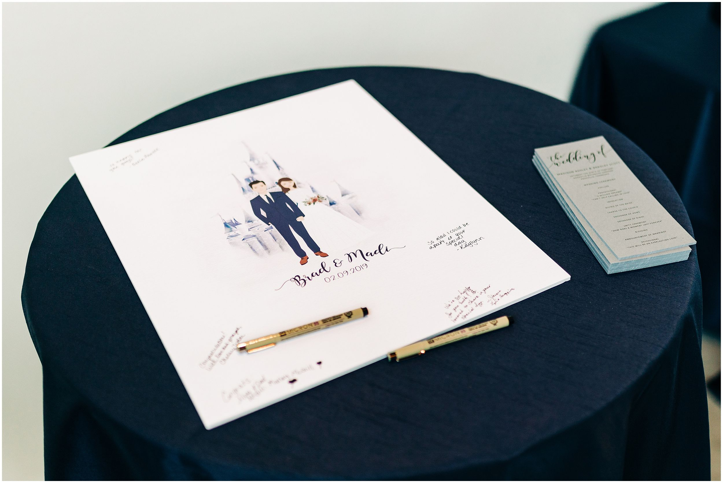fun guest book wedding ideas