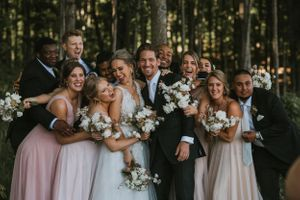 Glen Arbor Wedding Photographer Bridal Party