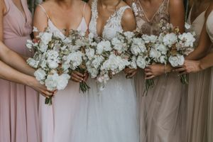 Glen Arbor Wedding Photographer Bridal Party Images