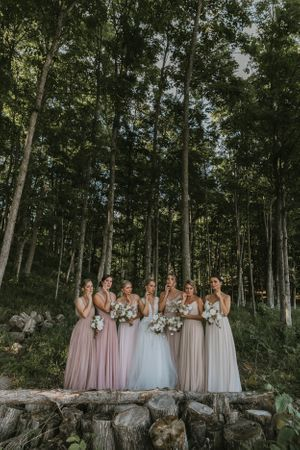 Michigan Wedding Photography Bridal Party