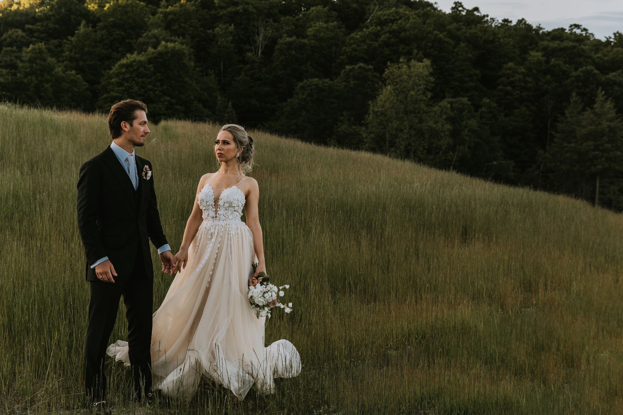 Glen Arbor Wedding Photographer Couples Image