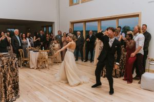 Glen Arbor Wedding Photographer First Dance