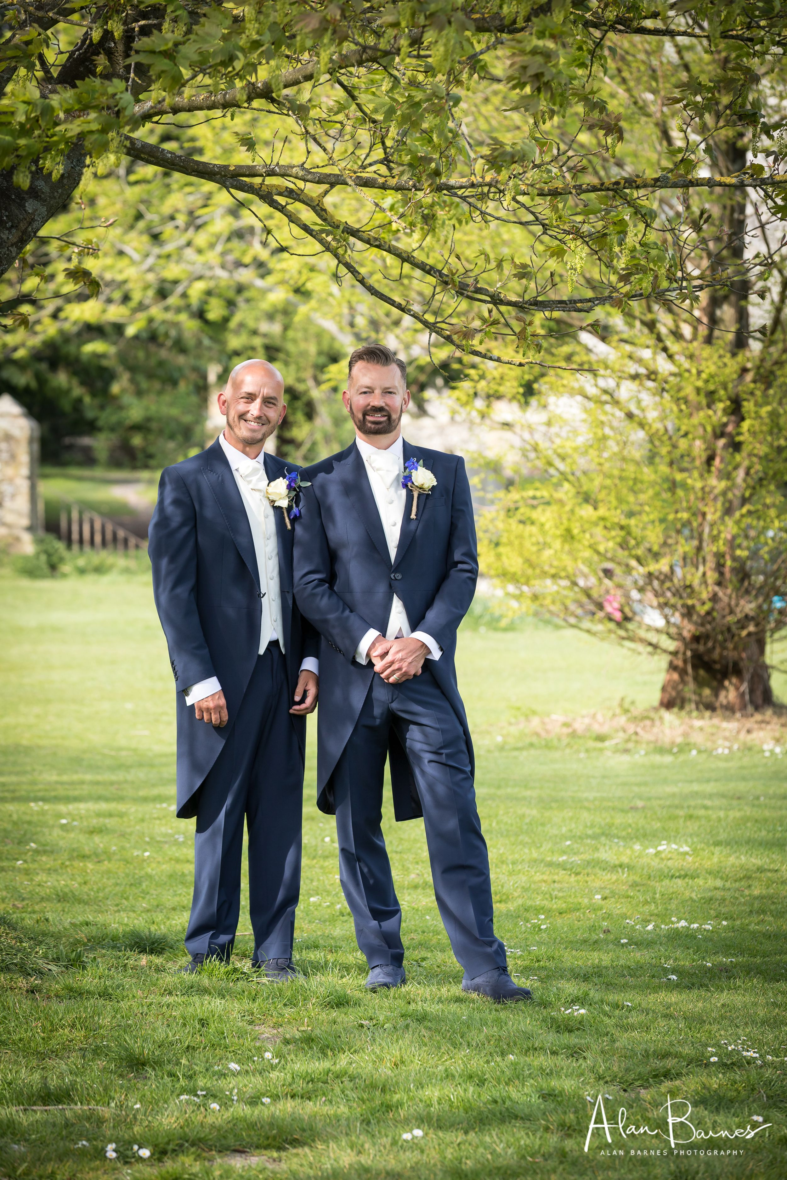 Phil and Paul wedding portrait