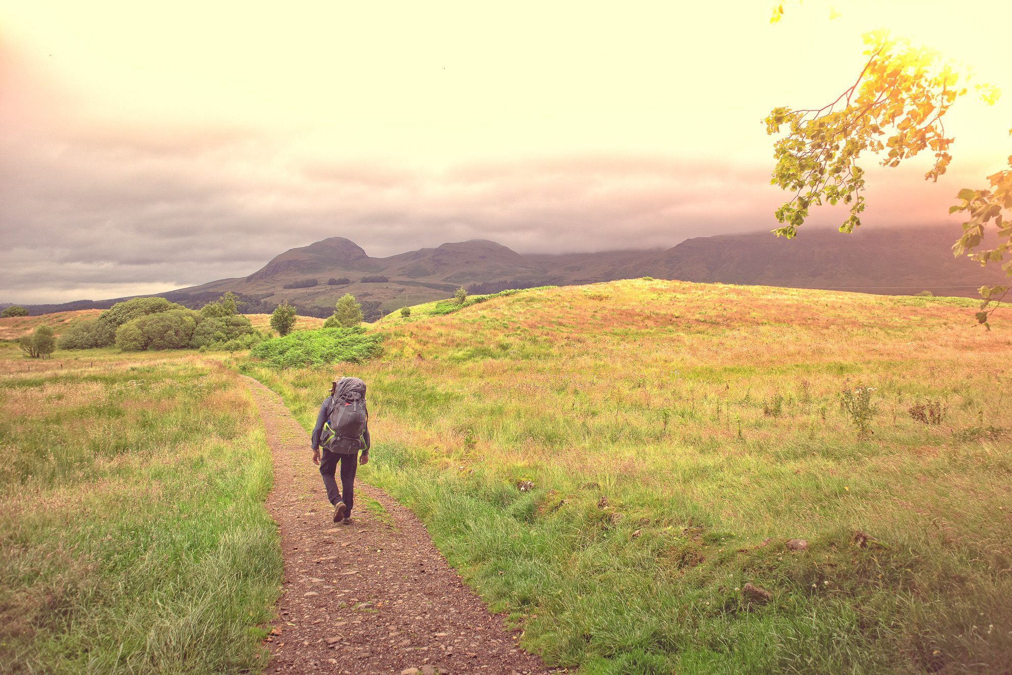 Outdoorfotografie Schotland West Highland Way Loch Lomond