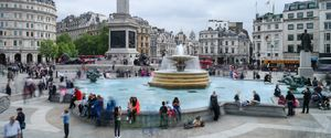 Trafalgar Square sfeerfotografie London