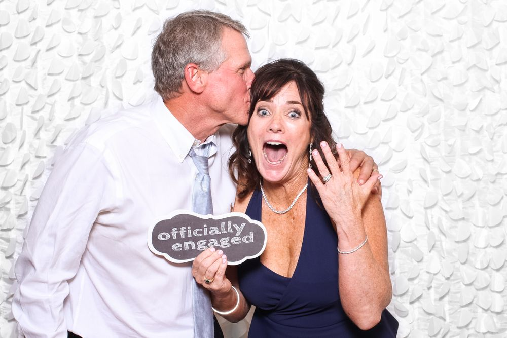 Engaged at Gigglebox Photo Booth