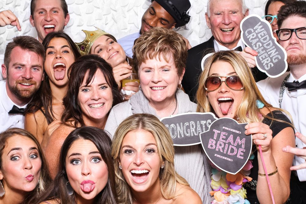 Team Bride at Gigglebox Photo Booth