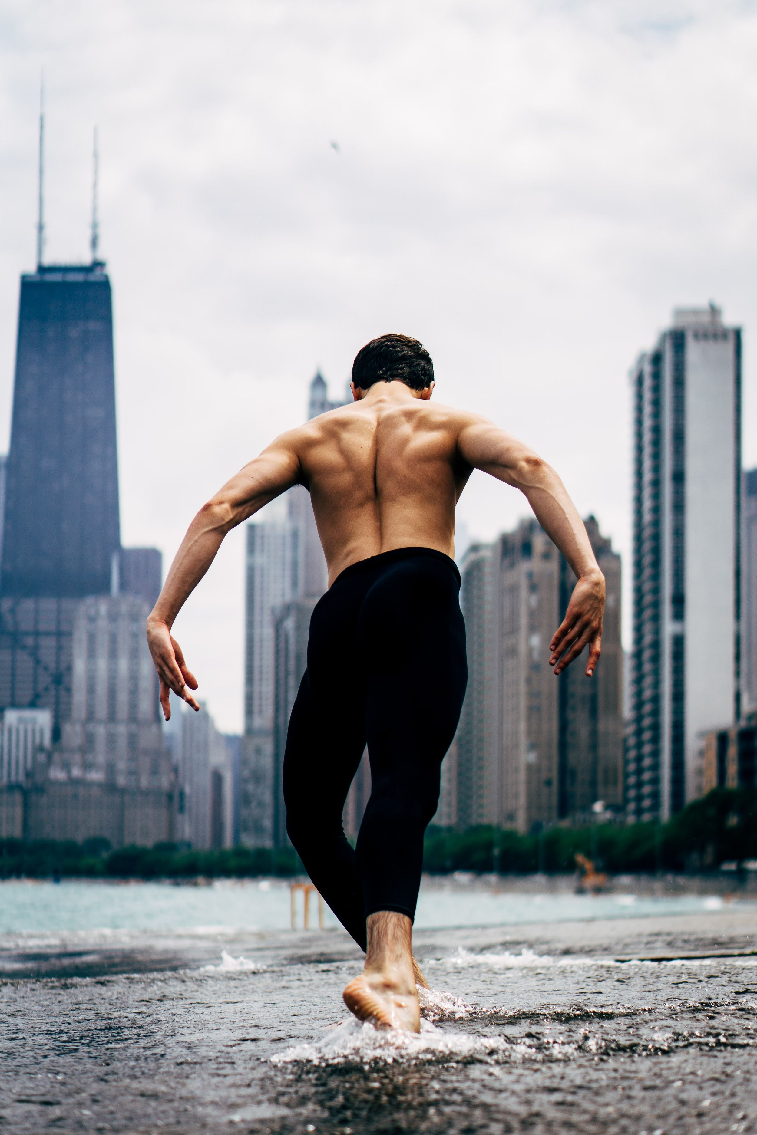 chicago male ballet dancer photography