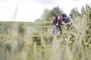 Countryside Pre wedding Photography Squib Oxford