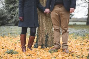 Autumn Colour Leaves Pre Wedding Photography Oxfordshire Oxford Photographer