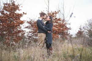 Autumn Caswell House Pre Wedding Shoot
