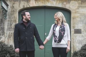 Winter Pre Wedding Photography Oxfordshire Squib