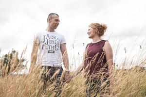 Summer Pre Wedding Photography Hyde Barn