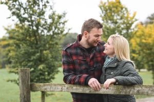 The Great Barn Aynhoe Pre Wedding Photography