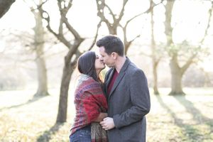 Caswell House Golden Hour Pre Wedding Photography Oxford Photographer