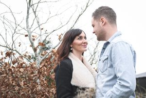 Caswell House Winter Pre Wedding Photography Squib