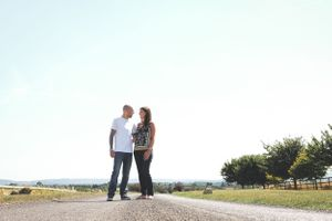 Golden Hour Pre Wedding Countryside Shoot Oxford Photographer Squib