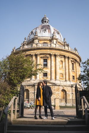 Radcliffe Camera Pre Wedding Photography Oxford Photographer