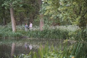 Minster Lovell Ruins Lake Pre Wedding Photography Oxford Photographer Squib