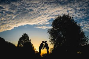 Caswell House Sunset Pre Wedding Shoot Oxfordshire Wedding Photography