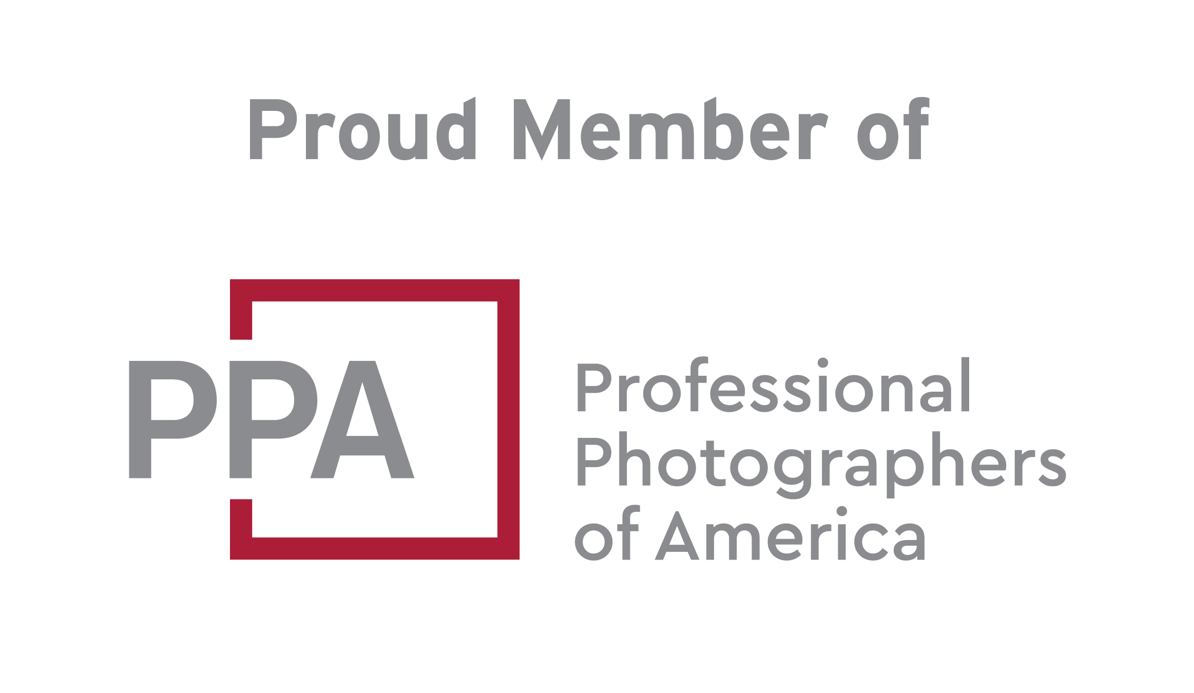 Pround Member of Professional Photographers of America Logo