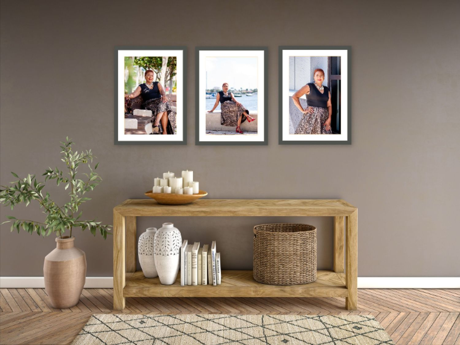 framed wall art design by Palm Beach photographer Photography By Dor