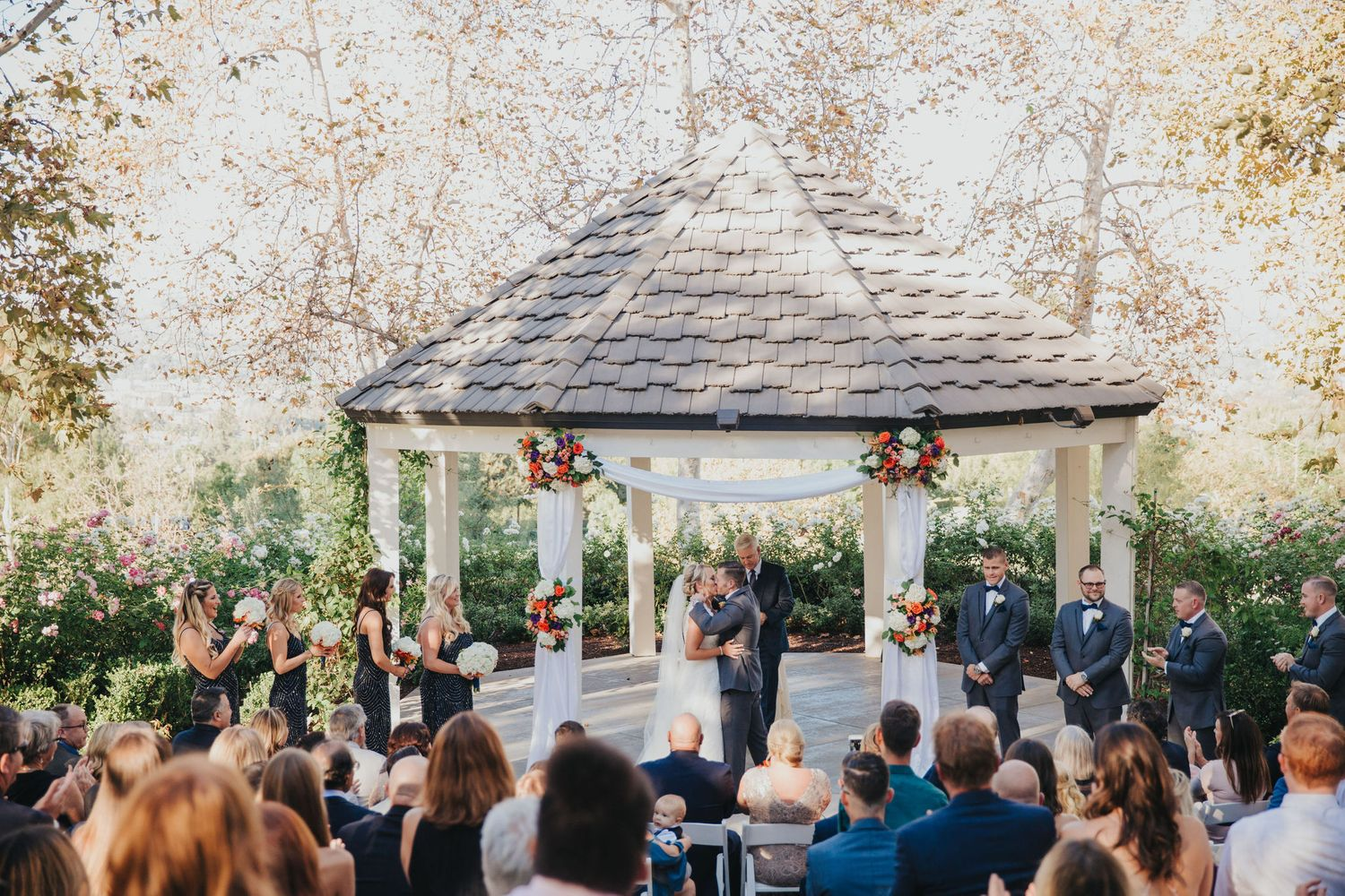 Ceremony Kiss | Summit House