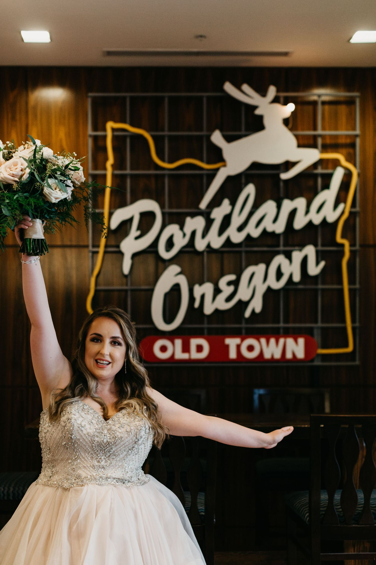 Portland wedding photographer, Portland wedding, old town, northwest wedding, best Oregon wedding, fun wedding inspo