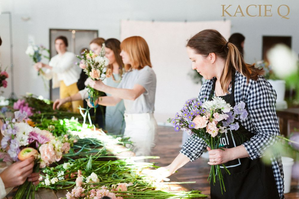 A Bloomin' Good Time Floral Workshop Nashville, TN