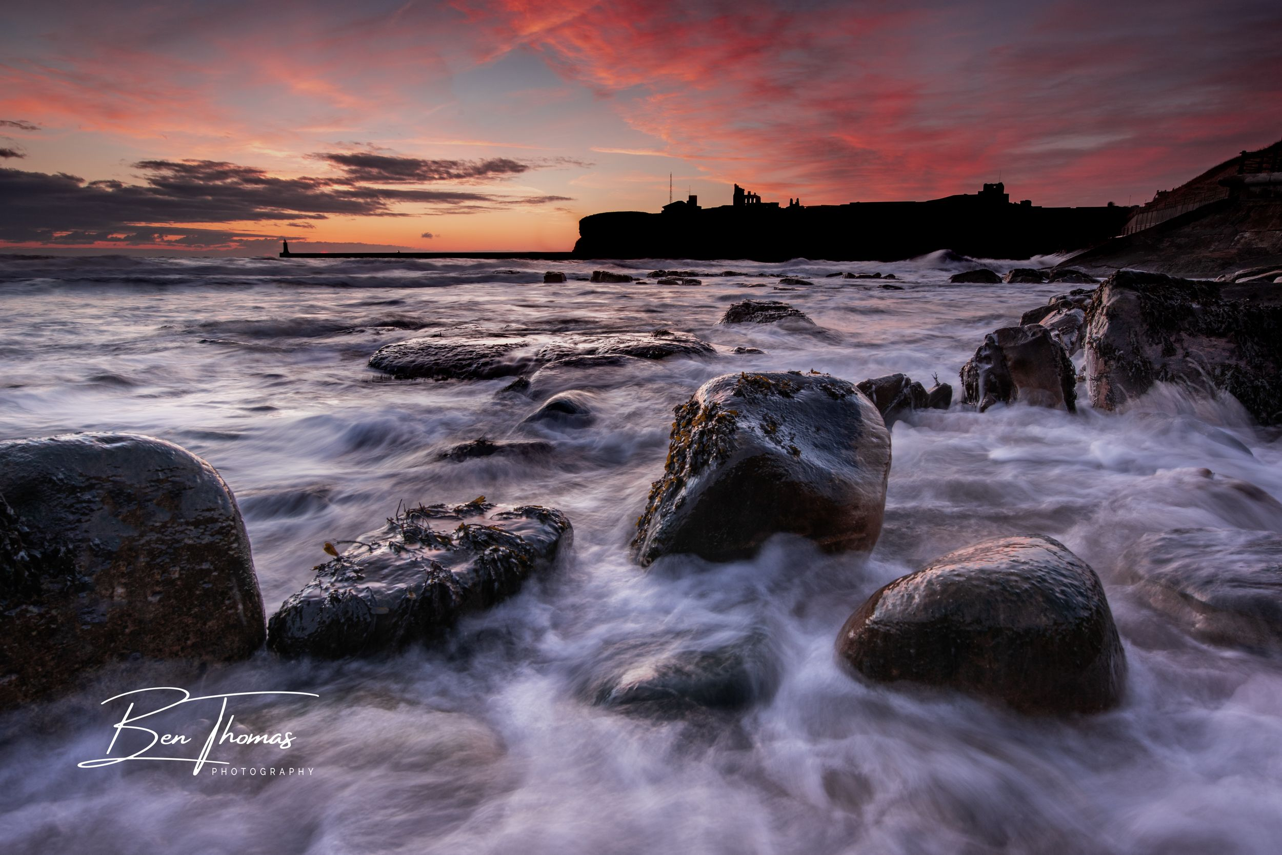 Tynemouth King Edward's Bay Sunrise