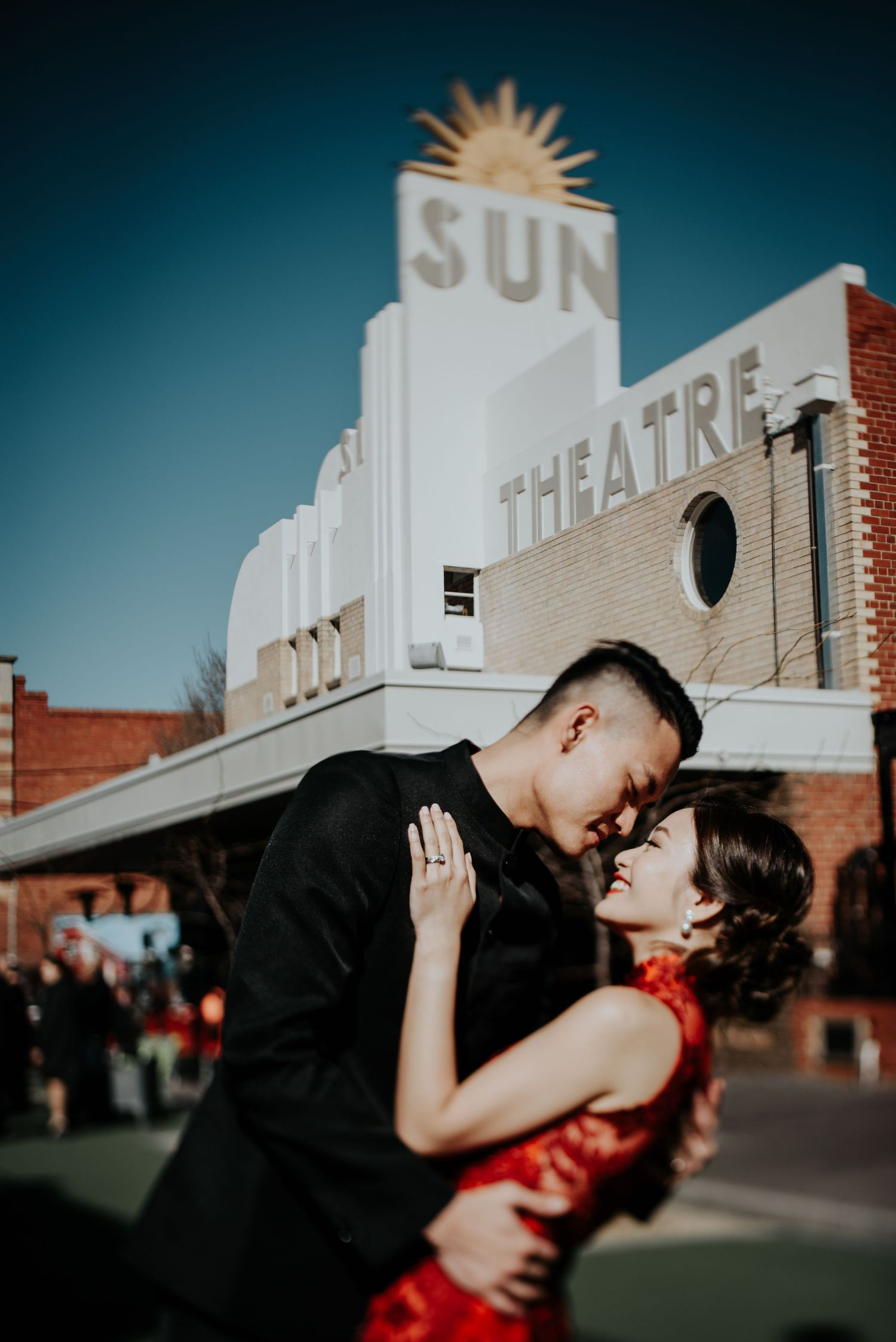 Candid relaxed wedding prewedding engagement couple photography Melbourne