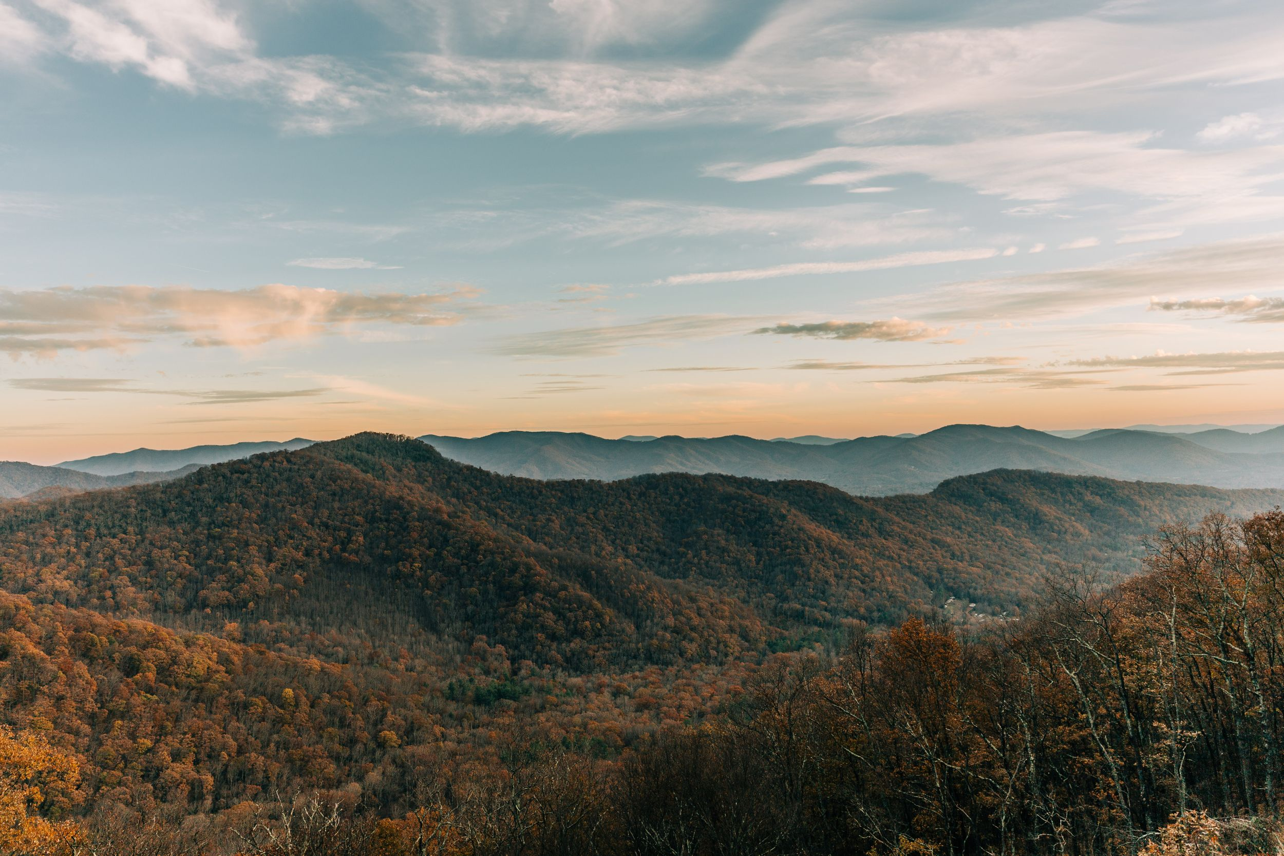 Blue Ridge Mountain Elopement