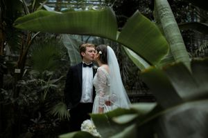 Botanical garden wedding in Belgrade