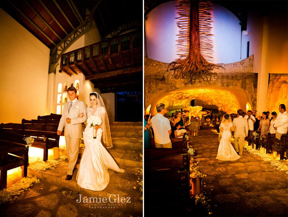 Xcaret chapel wedding photos 2