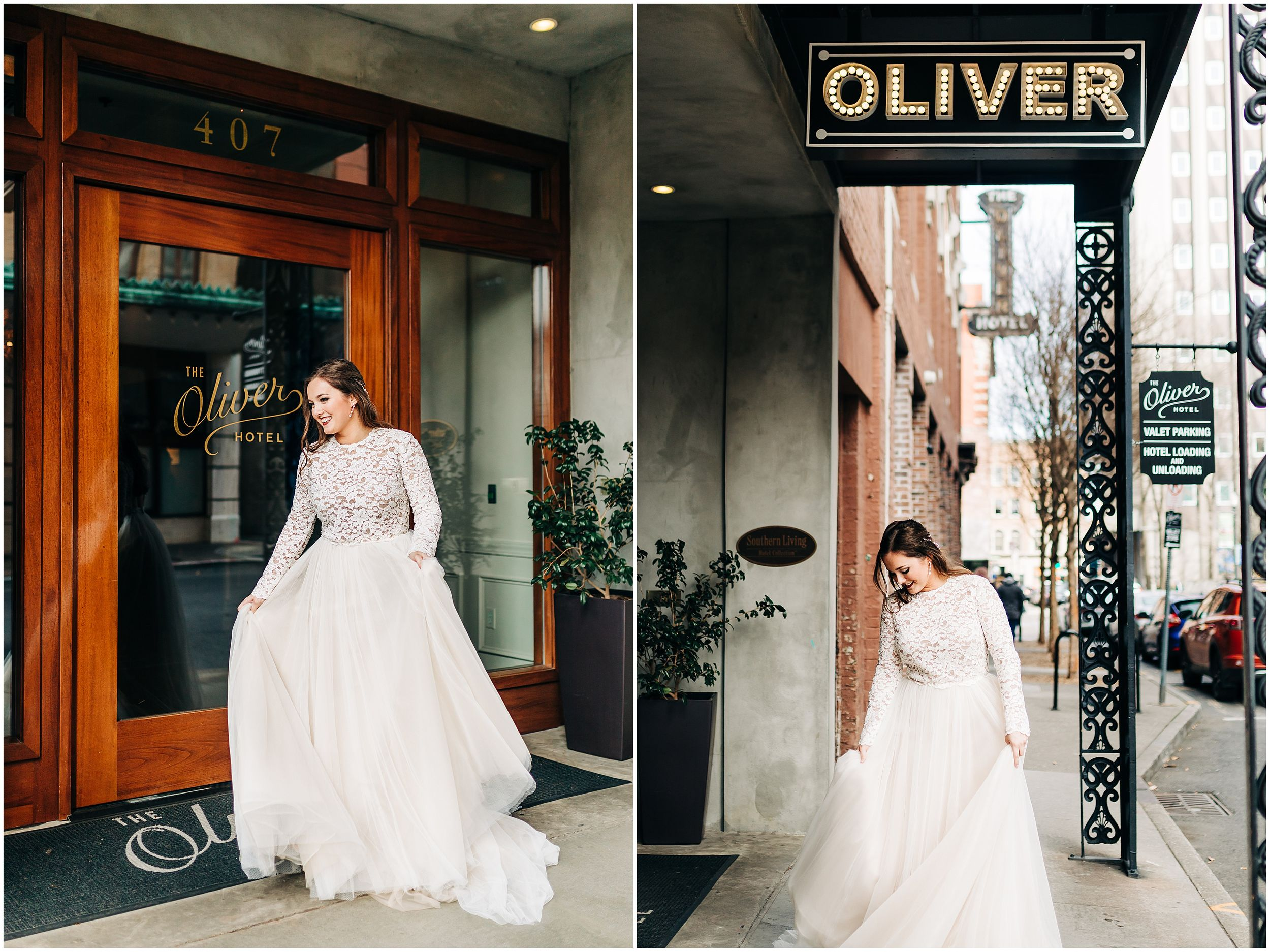 Oliver Hotel Knoxville Tennessee Wedding
