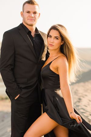 Sexy Engagement Photos / Idaho Portrait and Wedding Photographer / Bruno Sand Dunes / Eagle Idaho Photographer