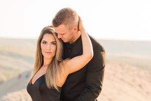 Sand Dunes / Engagement Photos / Boise Photographer / Bruno Sand Dunes Idaho