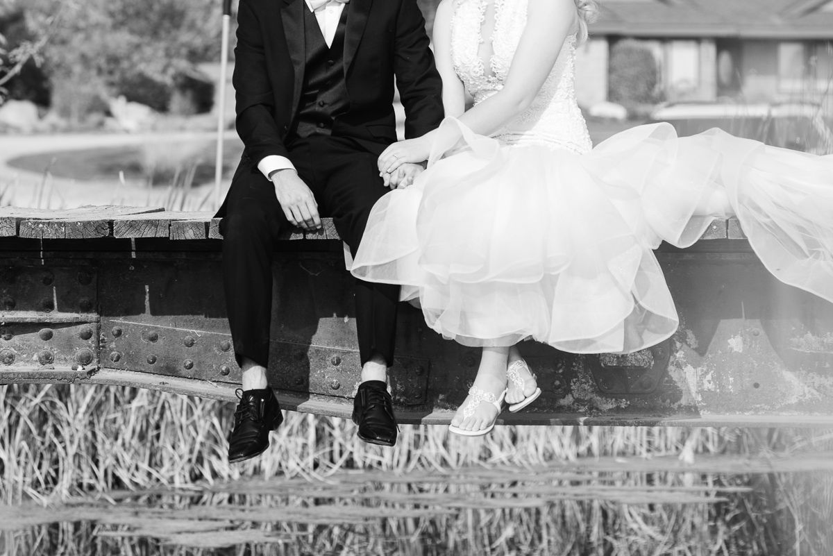 Wedding Venues, A Creekside Affair, Idaho Wedding Photographer, Bride and Groom Portraits