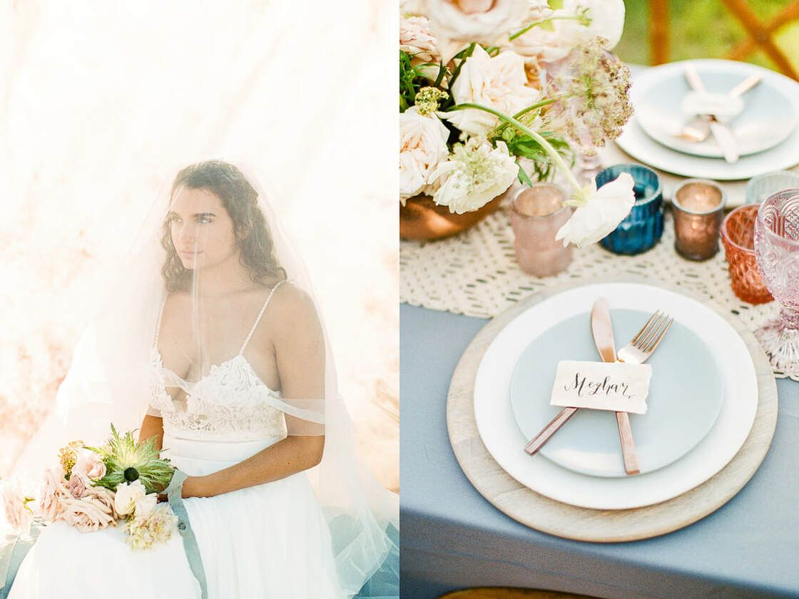 details for boho styled shoot with ivory & beau on tybee island, ga