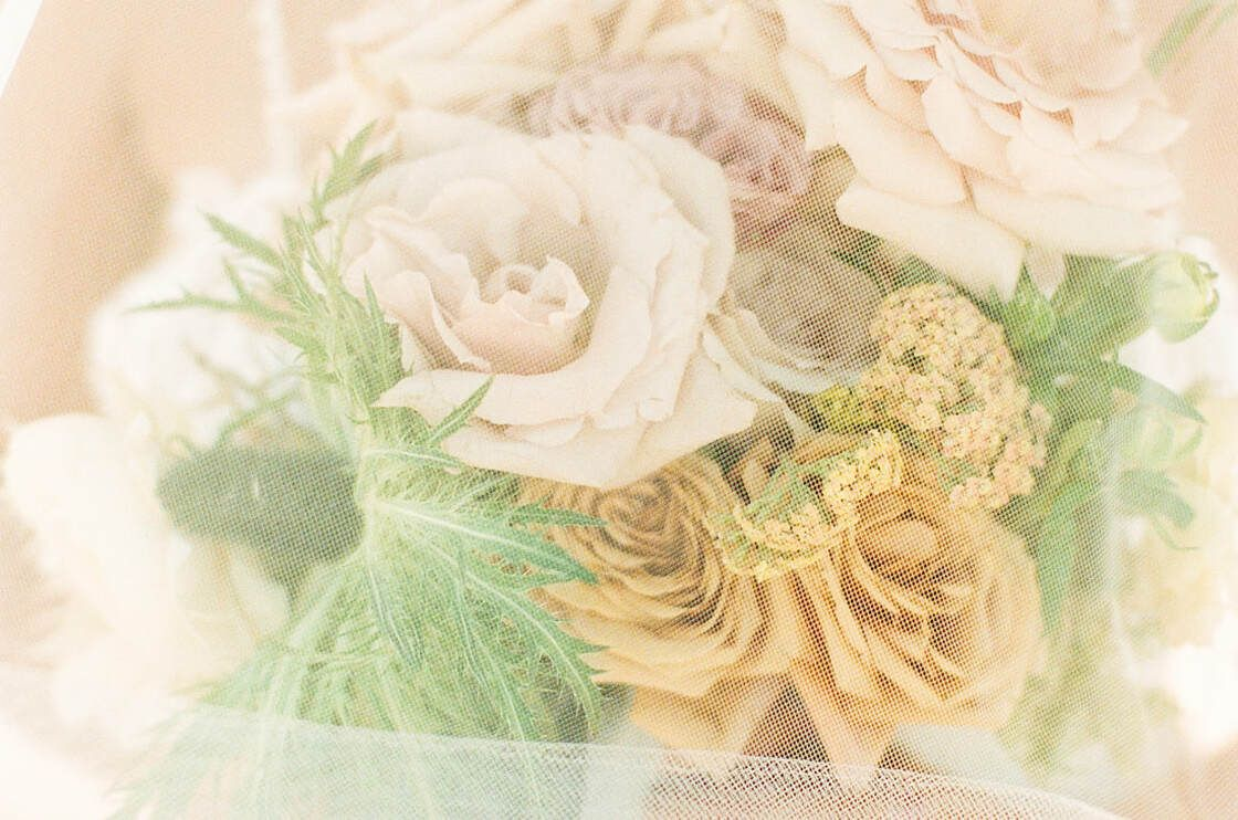 bridal floral details for boho styled shoot with ivory & beau on tybee island, ga
