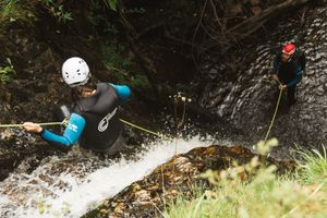 The Adventure Photographers The Canyoning Company Tummel
