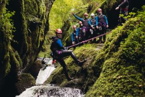 canyoning dollar glen scotland